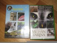 Finnish Nature DVD's about birds and nature