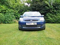 Ford Fiesta 1.25 Zetec Blue not corsa, nor golf polo