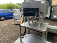 GAS FALCON SALAMANDER GRILL CATERING COMMERCIAL KITCHEN BBQ SHOP FAST FOOD SHOP