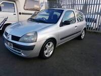 JUST ARRIVED IN PART EX 2005 RENAULT CLIO 1.2 DYNAMIC, 4 MONTHS M.O.T GOOD RUNNER
