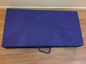FOLDABLE GYMNASTIC MAT FOR SALE £50 ONO AND PICK UP ONLY