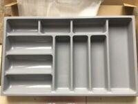 Drawer insert - plastic cutlery tray