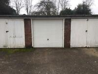 SINGLE SECURE GARAGE TO RENT WITH FLOODLIT ACCESS - NEW SECURITY DOOR - NO POWER