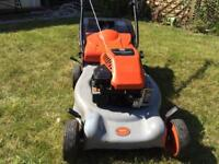 Flymo 46SD self propelled petrol lawnmower. Briggs and Stratton engine. Mower just been serviced