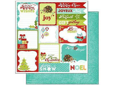 (Imaginisce Paper 12x12 Colors of Christmas - Holiday Wishes)