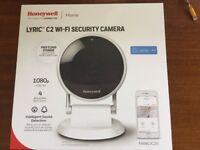 Honeywall Lyric C2 wifi security camera new and sealed in box