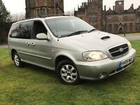 KIA SEDONA 2.9 DIESIEL PEOPLE CARRIER 7 SEATER 2005