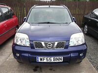 2005 Nissan X-trail sve dci, MOT until 15/09/2017 selling as Spares or Repairs