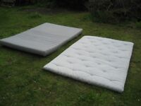 Mattresses, Ikea Sultan and Sultan Timan topper for double bed - NOW TAKEN