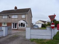 Semi detached 3 bed house to rent in Ffos Y Ffin