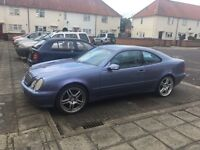 Mercedes Benz clk 2.3 full leather interior with electric seats 19 inch alloys mot till November