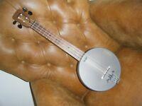 Magic Fluke M90W concert bango ukulele
