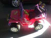 Barbie Jeep - great for young kids!