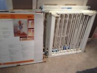 lindham and babydan stair gates x 3 plus extensions will separate