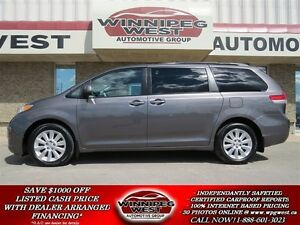 2011 Toyota Sienna LE, ALL-WHEEL-DRIVE, 7 PASSENGER, POWER DOORS