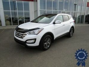 2016 Hyundai Santa Fe Sport Luxury AWD w/Heated Leather Seats
