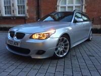 2007 FACELIFT BMW 5 Series 3.0 530d M Sport Touring+AUTOMATIC ++FULLY LOADED++not 535d 520d mercedes