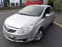 2009 VAUXHALL CORSA 1.3 CDTI DIESEL ECOFLEX LONG MOT &TAX £30 TAX FOR YEAR GREAT CONDITION