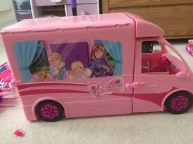 Barbie RV Camper Van for sale excellent condition with all original pieces.