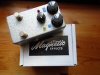 Magnetic Effects Mk 1 Double Feature Stomp Box (Fuzz & stuck Wah in one pedal)