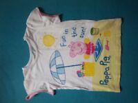 Peppa Pig T-Shirt Age 5-6 Years IP1