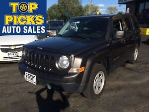 2014 Jeep Patriot NORTH EDITION, ALLOYS, 4X4, POWER GROUP