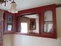 Caravan Display Unit and Mirror