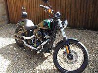 Harley Davidson Softail FXS Blackline , Fatboy Rear, £6k of upgrades!