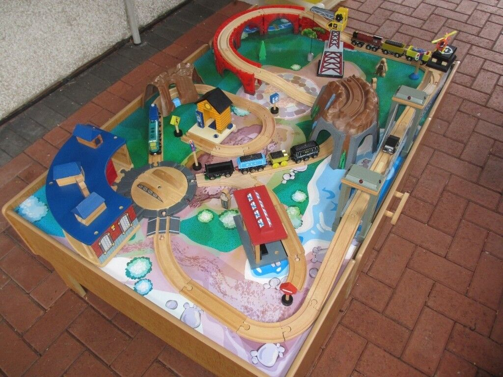 Early Learning Centre Train Set Table In Thornhill Cardiff Gumtree