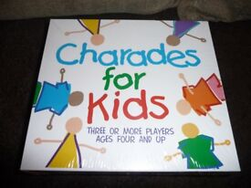 Charades for kids - Brand new