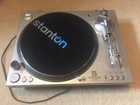 Stanton STR8-80 Direct Drive Turntable