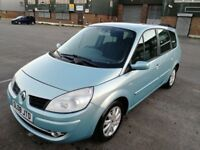 7 SEATER RENAULT GRAND SCENIC AUTOMATIC IN EXCELLENT CONDITION. LONG MOT. SERVICE HISTORY. 2 KEYS.