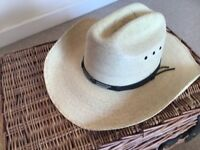 American Stetson style hat