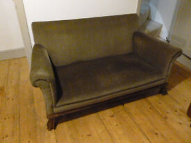 Two seat settee for sale - good condition