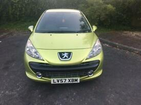 Peugeot 207 1.4 Play 12 Months Mot with full service history