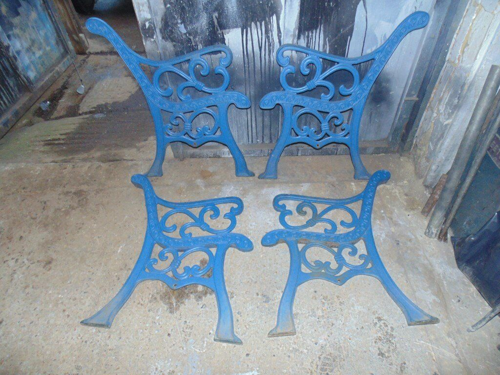 Heavy duty cast iron bench endsin Worthing, West SussexGumtree - Heavy duty cast iron bench ends. all in good condition 1 pair £35 2 pairs £60