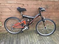 ADULT FALCON MOUNTAIN BIKE WITH 18 GEARS