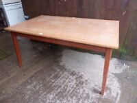 large Dining Table No Chairs Delivery Available £15