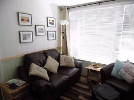Holiday in cornwall/devon,near Bude 2 bed holiday chalet sleeps 5 allows dogs set in lovely grounds