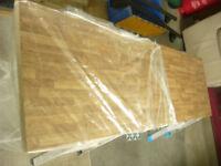 Kitchen Worktop 38mm Colmar Oak Laminate Wood Effect Round Edge Worktop