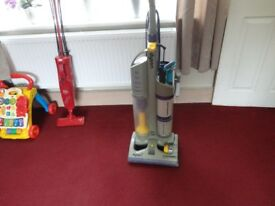 dyson hoover with all the tools working order