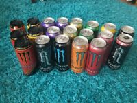 Collection of energy drinks Monster, Relentless 20x500ml