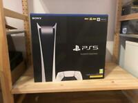 Sony Playstation 5 (PS5) Digital Edition Brand New and Sealed