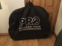 Pro powers performance black bike bag