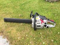 SPEAR & JACKSON PETROL CHAINSAW. COLLECTION ONLY