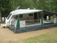 Caravan 2005 Abbey GTS Vogue 418, 4 berth, full awning, many extras, ready to go as owner giving up.