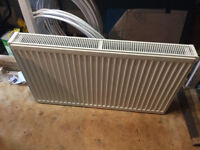 Central Heating Double Panel Radiator - 100cm x 60cm x 10cm