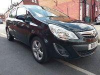 2011 Vauxhall Corsa 1.2 SXI 5DR Facelift New shape Black Only 63k miles