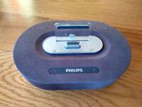 4 Phillips Speaker dock for i phone 4 Model DS1200/05