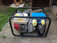 Honda GX200 generator 3.5KVA 240v /110v 16A GenSet